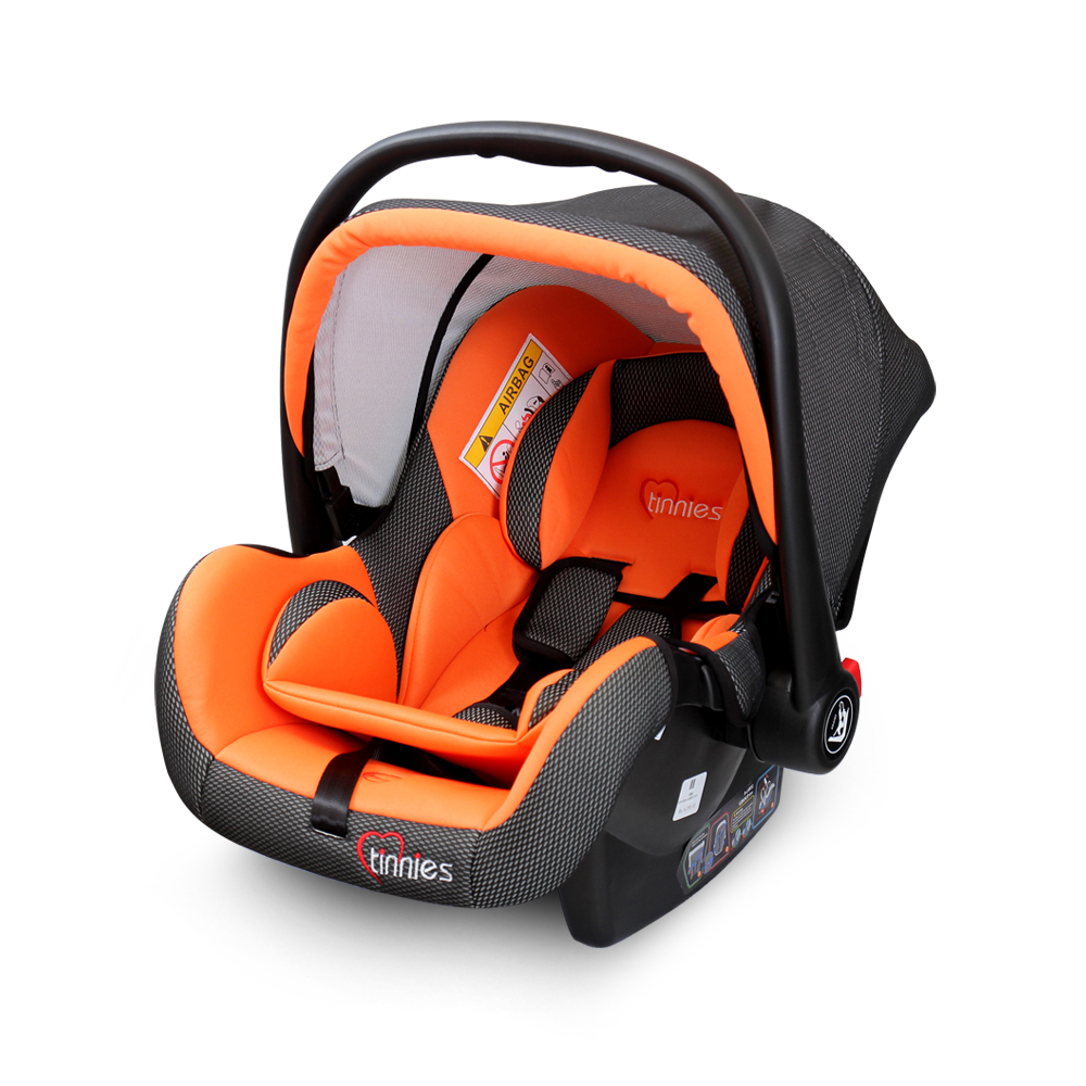 Tinnies baby car seat orange – Tinnies
